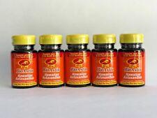 BioAstin Hawaiian Astaxanthin Nutrex Hawaii 12mg 25 Cap 5x BOTTLES-125 Gel Caps