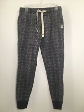 Ambercrombie and Fitch Mens XS Sleep Pajama Pants Grey Snowflake Fairaisle Xmas