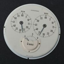 Vtg JUNGHANS 1/10 of Second Open Face Stopwatch - Germany Dial Original