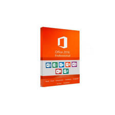 Microsoft Office 2016 Professional 1 PC