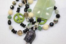Bohemian Modeschmuck-Halsketten & -Anhänger aus Perlen für Damen