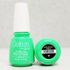Gelaze China Glaze LED UV Nail Gel Color Polish 0.5 oz - In The Lime Light 81815