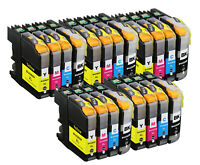 20 PK XL Ink Cartridge Set + chip for Brother LC203 MFC J460DW J885DW J485DW