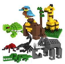 8 Sets of LOZ Diamond Blocks Nano Mini Building Blocks Building Toys - Animals