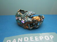 Kirks Folly Lorelei Mermaid Sea Goddess With Dolphin & Seahorse Cuff Bracelet