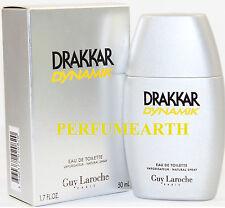 DRAKKAR NOIR DYNAMIK 1.6 / 1.7 OZ EDTSPRAY FOR MEN BY GUY LAROCHE NEW IN A BOX