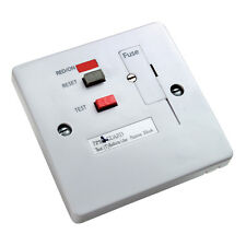 RCD White Fused Connection Unit for 1 - TFP10WL