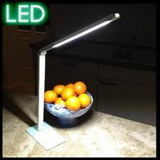Schreibtischleuchte Schreibtischlampe LED mikado 100 weiß  Büroleuchte 4W dimmen