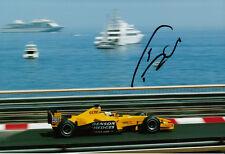 Giancarlo Fisichella Hand Signed B&H Jordan Ford Monaco Photo 12x8 1.