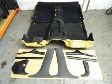 BMW E39 5 Series Saloon Black Interior Floor Carpet & Associated Trim Set #078