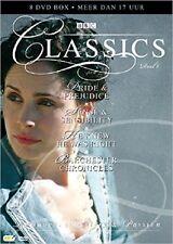 BBC CLASSICS : PRIDE & PREJUDICE /SENSE & SENSIBILITY/BARCHESTER- DVD - Region 2
