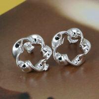 ASAMO Damen Ohrstecker Ohrringe 925 Sterling Silber plattiert Schmuck O1190