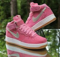 Nike Air Force 1 Mid '07 Women's Size 6.5 Bright Melon Pink Gold 818596-800