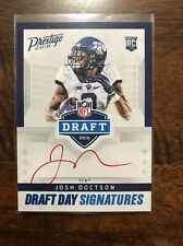 2016 Prestige Josh Doctson Draft Day Signatures Red Ink Rookie Auto SSP!!!