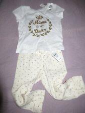 NWT PLace gold glitter t shirt Baby Gap gold heart legging set baby girl 18 m 24