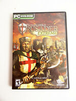Stronghold: Crusader Extreme (PC, 2008) 1 DVD No Manual Video Game