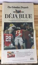Columbus Dispatch Newspaper Ohio State Buckeyes 01/08/08 - DEJA BLUE full paper