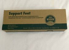 New listing Primetime Petz Support Feet 360 Wooden Configurable Gate Feet