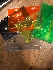 Set Of 5 Plastic Bags Makeup Holders