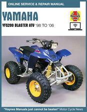 2002 Yamaha Blaster 200 Haynes Online Repair Manual - 14 Day Access
