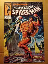 Michael Mike Zeck SIGNED Comic Art Print Amazing Spider-Man #293 Kraven Part 2