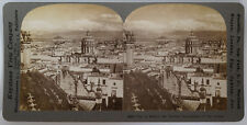 Keystone Stereoview City of Mexico, Ancient Tenochtitlan of Aztecs 1913 # 10804