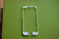 "iPhone 6  (4.7"") Front Frame Bezel LCD Holder Replacement Part WHITE"