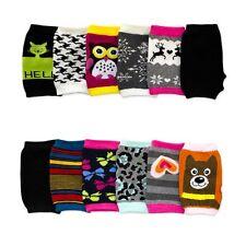 Plain Knit Magic Gloves One Size Solid Warm Touch Screen Men Women Kids Black