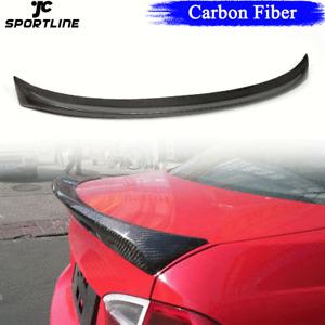 Carbon Fiber Rear Trunk Spoiler Boot Wing Lip For BMW 3Series E90 M3 Sedan 05-12