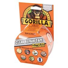 GORILLA® CLEAR REPAIR TAPE 8M X 48MM FIX PATCH SEAL