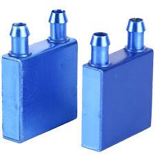 2 PCS Aluminum Water Cooling Block for CPU Graphics Radiator Heat Sink US STOCK