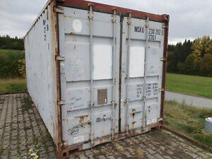 20 Fuß Lagercontainer, Garage, Lagerbox 20`, Seecontainer, Container, Lager, Box