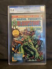 Marvel Presents #1 CGC 9.4 First Appearance Bloodstone