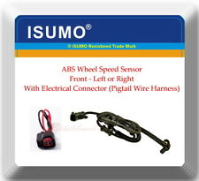 1 ABS Wheel Speed Sensor W/Connector Front L or R For:RAM4500 RAM5500 2008-2016