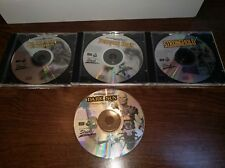 Advanced Dungeons & Dragons Ultimate Fantasy CD-ROMs games (1995). Loose 4 CDs