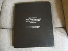 AMERICAN SPACE FLIGHT SILVER ANNIVERSARY FRANKLIN MINT DISPLAY CASE 25 COINS #1