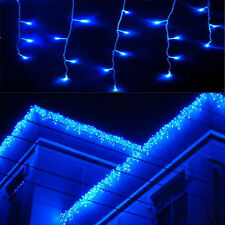 96-960LED String Hanging Icicle Snowing Curtain Light Outdoor Xmas Party Wedding