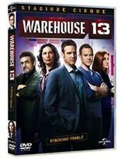 Dvd WAREHOUSE 13 - Stagione 05 - (Box 2 Dischi) Serie Tv  ....NUOVO