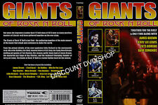 Giants Of Rock N Roll (DVD, 2011) New Item