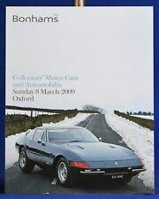 Bonhams Auction Catalog Automobile March 2009 Oxford Ferrari Daytona