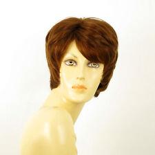 Peluca mujer corto cabello 100% natural de color marrón claro KRYSTIE 30 PERUK