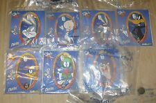 2000 Looney Tunes Subway Kids Meal Card Lot of 7 Different
