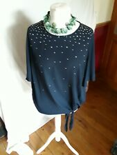 LADIES GEORGE STUDDED TOP SIZE 20 BNWT