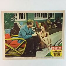 Duchess of Idaho Esther Williams Swimsuit 1950 Color By Technicolor Lobby Card