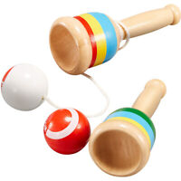 Kendama Cup and Ball Game Traditional Japanese Wooden Kids Educational Toy