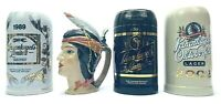 Leinenkugel Beer Stein Limited Edition Lot RARE Native American Character + 3x1L
