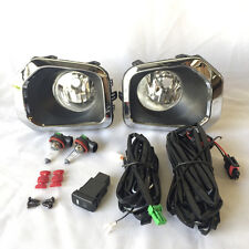 For 2016 Toyota Tacoma Clear Lens Fog Lights Kit with Bezel Switch Wiring Bulbs