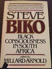 Steve Biko Black Consciousness In South Africa HC/DJ 1978 First Edition Rare