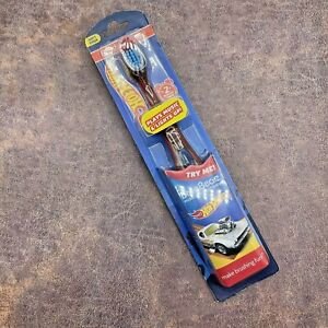 HOTWHEELS Manual Toothbrush Brush Buddies Musical & Lights Up New And Sealed