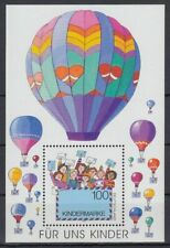 Germany**AIR BALLOON-AVIATION-SHEET/BLOCK Mi 40-1997-Animation-Ballon-Luftballon